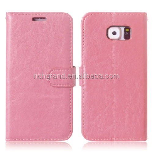 High quality low price Wallet Flip Leather mobile phone case For Samsung Galaxy for Huawei