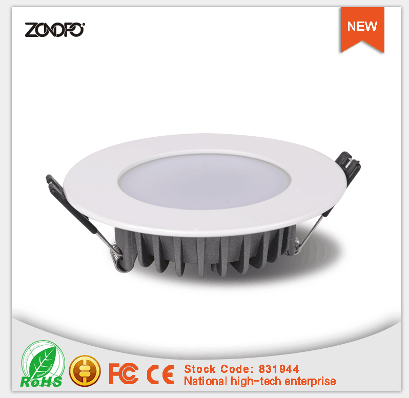 2017 china supplier new promotion 20w 80lm ra80 ultra slim no need driver 220v ac recessed dimmable led downlight