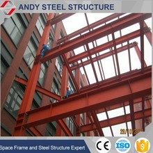 Sandwich panel steel structure supermarket