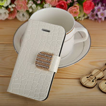 For Samsung Galaxy S3 III i9300 White PU Leather Mobile Phone Case