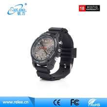 Best selling 1080P wearable spy hidden watch camera with night vision