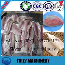 Heavy duty industrial electric automatic fish processing equipment/fish skin remover