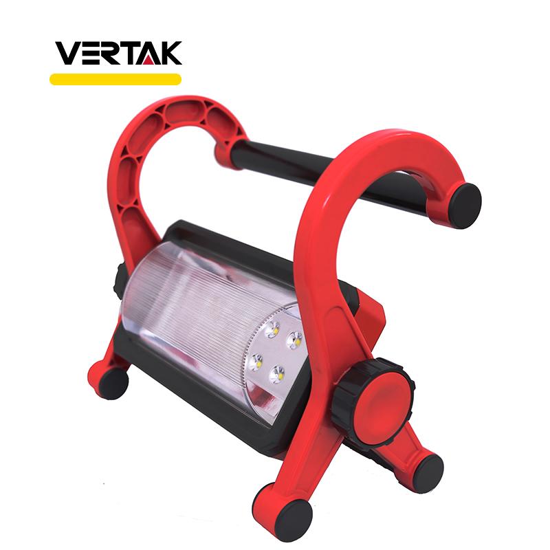 Portable Rechargeable Led Flashlight Lampe de Travail Lumière Avec 18 V Li-Ion Batterie