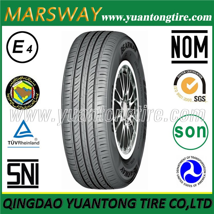 Competitive Price MARSWAY New Brand Car Tires