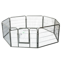 outside heavy duty large strong metal puppy pet enclosure China supply