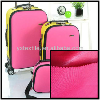 210d polyester oxford luggage fabric