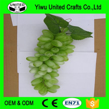 New style different colors western decor bunches artificial grapes plastic Fake Fruit