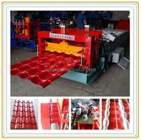 CE&ISO China made antique glazed tile roof machine,antique metal roof tiles