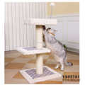 Pet Supplier Funny Sisal Wholesale Cat Trees Cat Tree Scratch Pole With Ball Activity Play CatToys Climbing