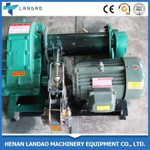 Factory price single drum electric pulling winch