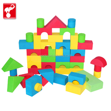 Eco friendly giant rubber building eva foam block educational toys for kids