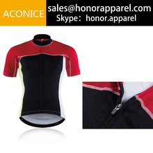High Quality Blank Short Sleeve Cycling Jersey Breathable Free Design Bicycle Cozy Bike Wear