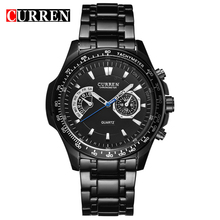 Interchange Straps Curren 8020 Chain Gold Vogue Men Watch Design Own Band OEM Alloy Metal Watch