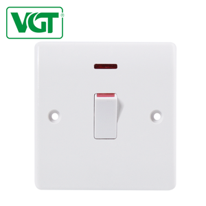 Home office/hotel use 1 gang 20A led light switch plate