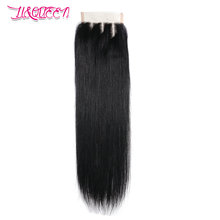 Cheap grade 7 a human hair lace closure straight wave unprocessed virgin wig