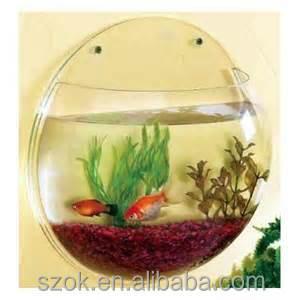 Wholesale round clear plastic portable fish bowls buy for Plastic fish bowls bulk