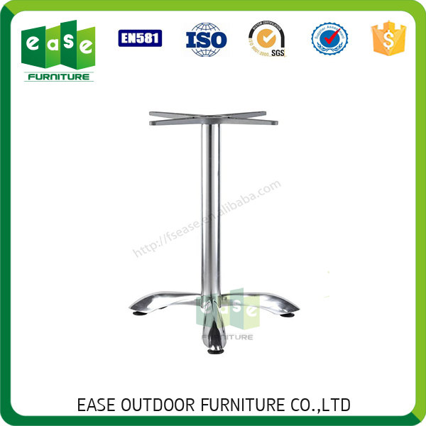 SALE cafe outdoor indoor metal 4 legs no rocking table base E9802