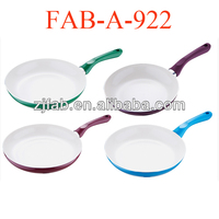 4pcs Hot Colorful American Australia Mini Ceramic Frypan Set On TV