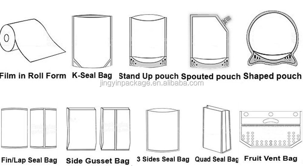 en plastique collation alimentaire paquet pour biscuits et biscuits collation emballage poche. Black Bedroom Furniture Sets. Home Design Ideas