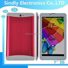 3g phone enabled 7 inch best low price tablet pc
