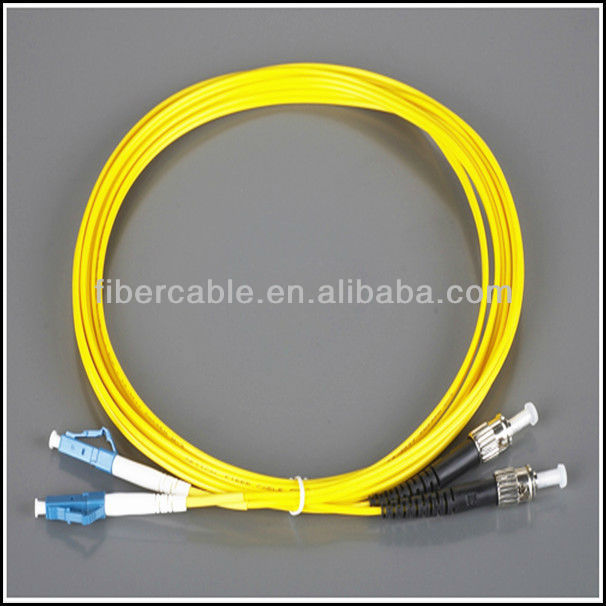ST/UPC-LC/UPC SM 9/125 duplex /st-lc fiber optic patch cord