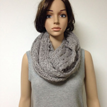 2018 New style women's fashion gray Scarf Snood Lady