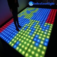 500x500mm dj disco Light LED Dance Floor light with matrix