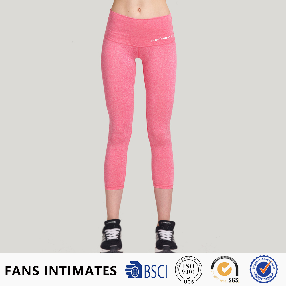 SGS audited factory nude girl women sexy yoga tights leggings fitness custom tattoo tights