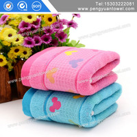 Soft twist jacquard brand Pure cotton hand towel China supplier hot cold towel