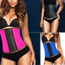 Colorful Latex Waist Training Corsets Waist Slimming Corset