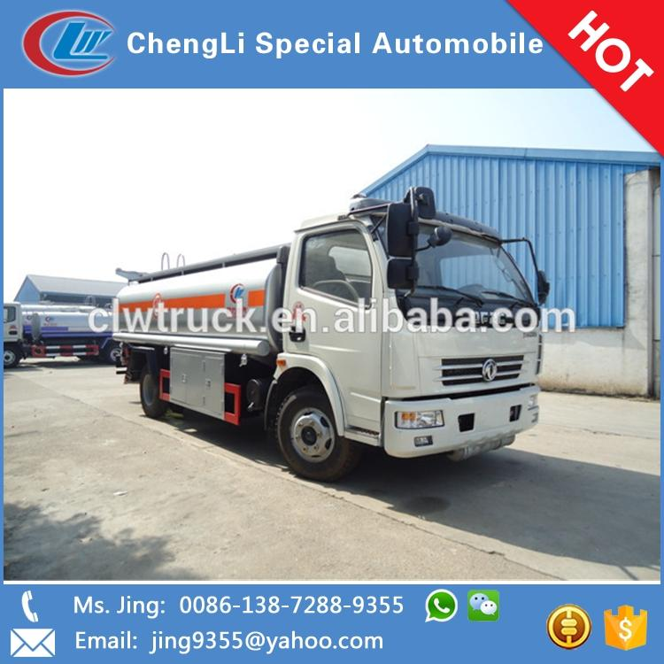 8-10cbm Dongfeng DLK 4x2 small fuel tank truck for sale