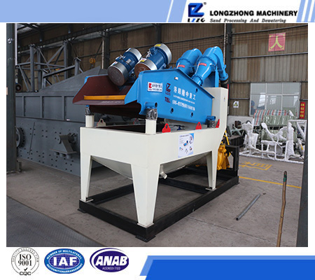 LZZG garnet recycling machine in sand washing process, water cyclone separator for mineral