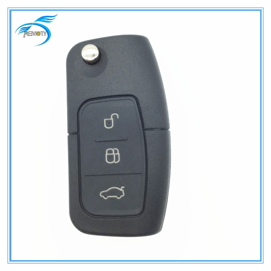 Top quality of smart folding car key for Ford with 3 button