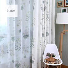 Alibaba supplier online 100 polyester printed embroidered austrian sheer curtains