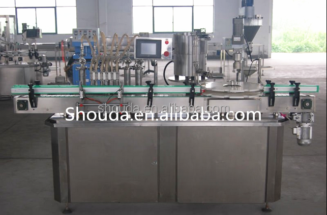 2016 High speed plastic bottle Juice filling and sealing machine