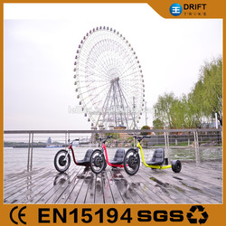 hot-saled!1000w e trike tricycle /drift trike for amusement
