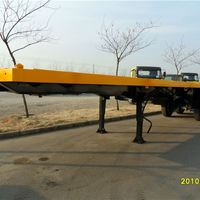 Container Flat Bed Trailer Used Container