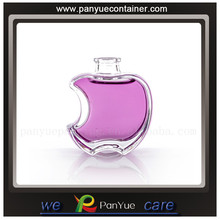 apple shape perfume glass bottle 30ml