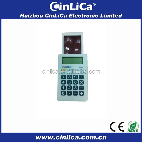 stationery set pocket magnifying super thin calculator components CA-88