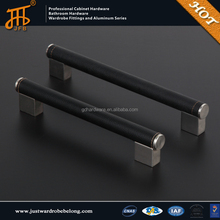 Leather furniture handles cabinet handle,kitchen aluminium profile handle,furniture knob with promotion