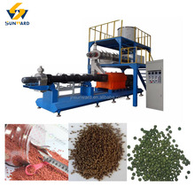 Engineers Available Overseas Service Floating Fish Feed Pellet Maker Processing Line
