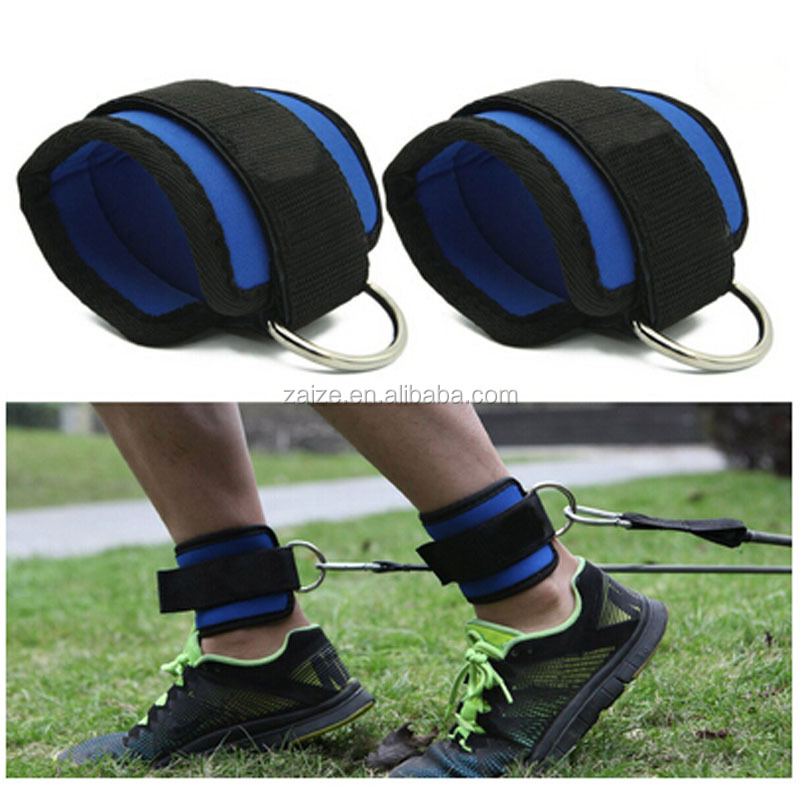 Durable Cuffs Fitness Equipment Ankle Straps