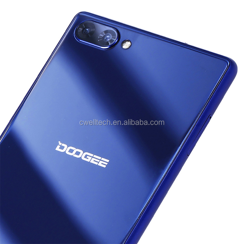 "Doogee Mix mobile phone 4G LTE 5.5"" bezel-less HD Helio P25 Octa Core 4GB/6GB+64GB Android 7.0 Dual Rear camera 16MP Smartphone"