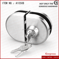 Commercial Stainless Steel Glass Door Lock