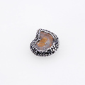 China Supplier Custom Natural Agate Druzy Pendant For Jewelry Making