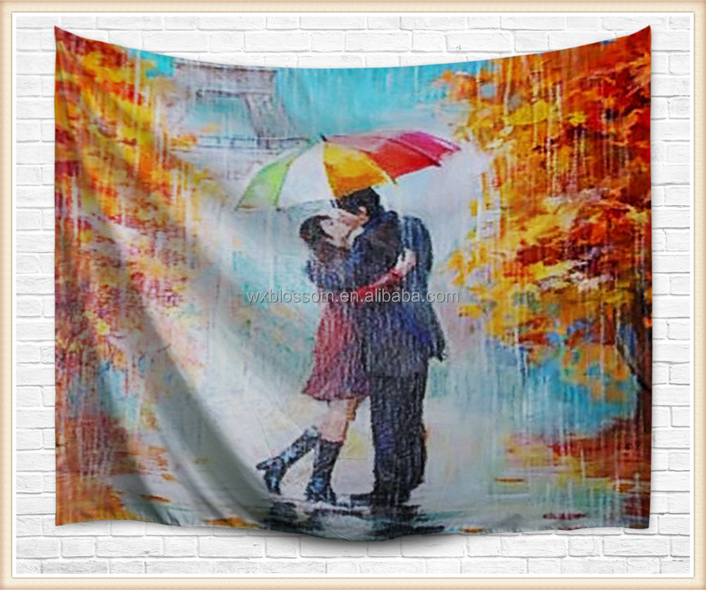 Love design home using digital print stylo culture tapestry