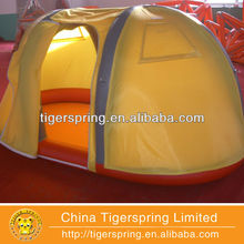 Hot welding and sewing inflatable astronomy tent