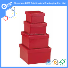storage decorative box with corrugated board/paperboard paper box