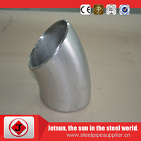 class 600 carbon steel pipe reducing elbow/xxs models elbow