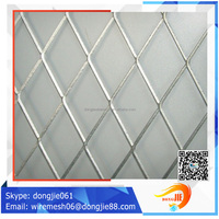The thin expanded 0.6X2 m Hi-Q metal mesh for heavy truck air filter(ISO9001;Manufacturer)